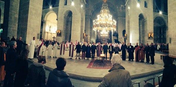 Messe en hommage des victimes des attentats de Paris