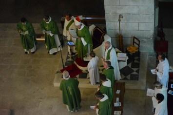 L'ordinand est présenté à l'évêque