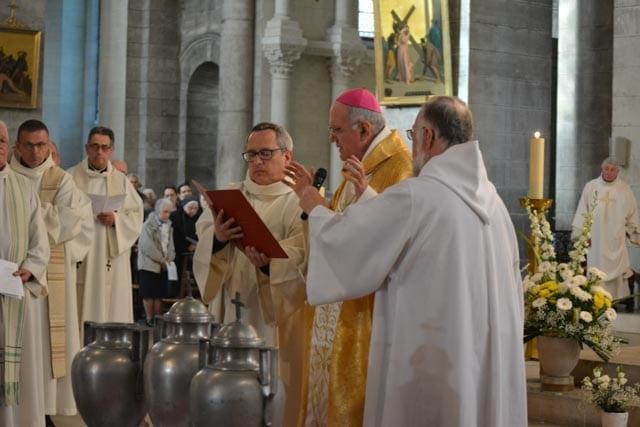 Messe chrismale 2017 – Homélie de Mgr Philippe Mousset