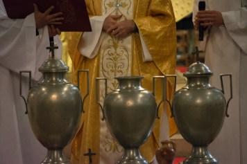 Les trois urnes.