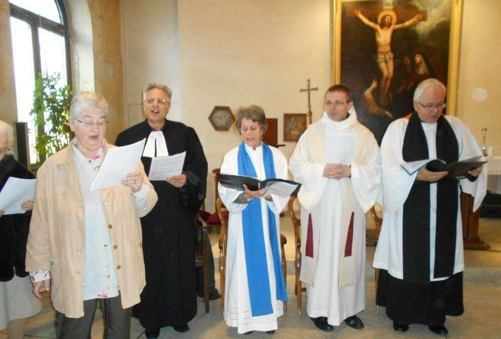 Temps de prière œcuménique à Ribérac