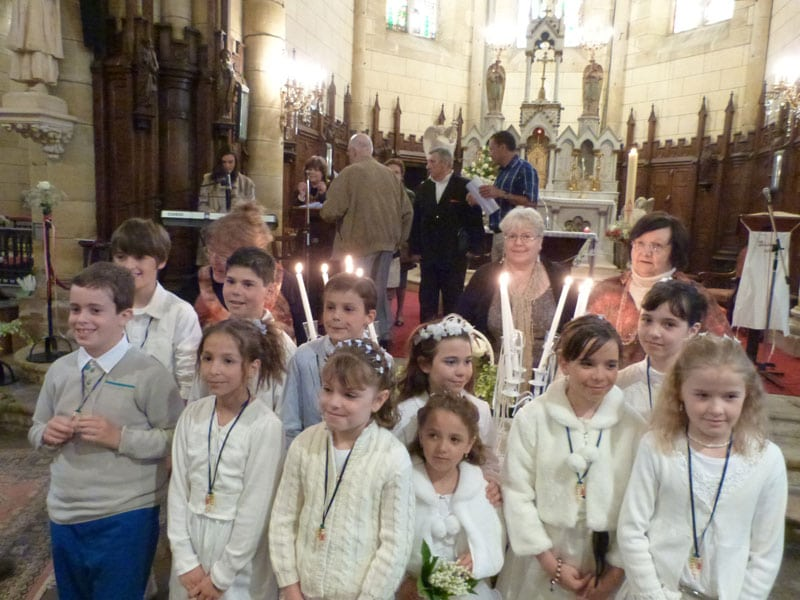 Première des communions à Payzac