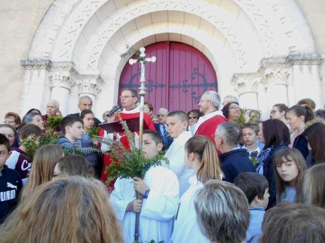 Ribérac - Messe des Rameaux