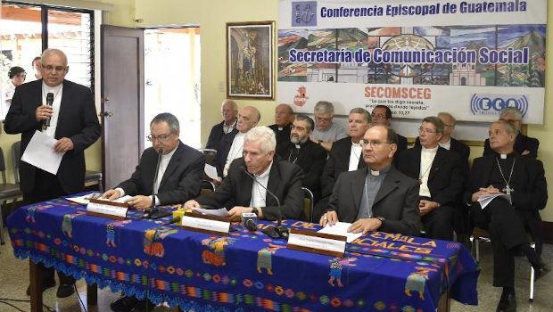 Conferencia Episcopal de Guatemala: Suspensión de actividades religiosas