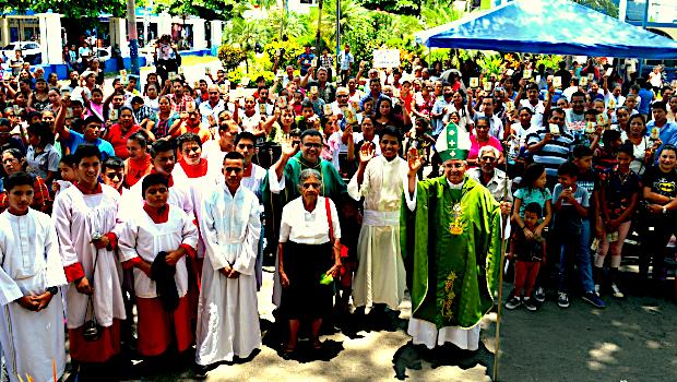 Visita Pastoral Masagua 2019