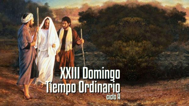 XXIII Domingo del Tiempo Ordinario (A)