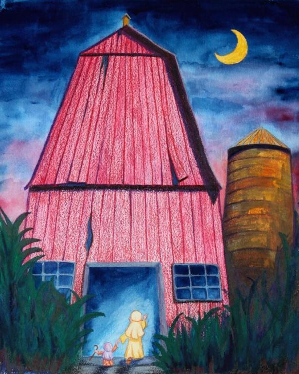 Artwork by Sister Ancilla Christine, DSP