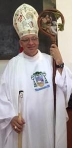 Bishop Flock Vested