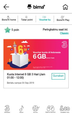 Internet Gratis Tri 6GB