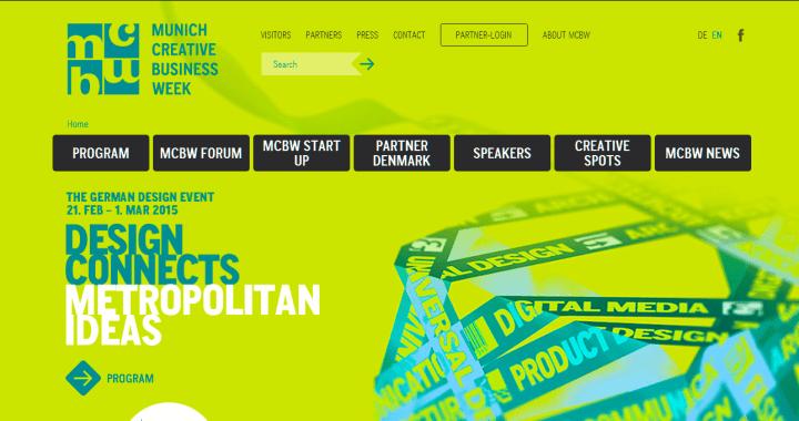Munich Creative Business Week (MCBW) 2015 – Descúbrelo
