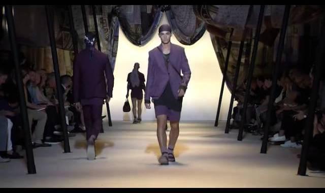 Versace Men's SS16 Show