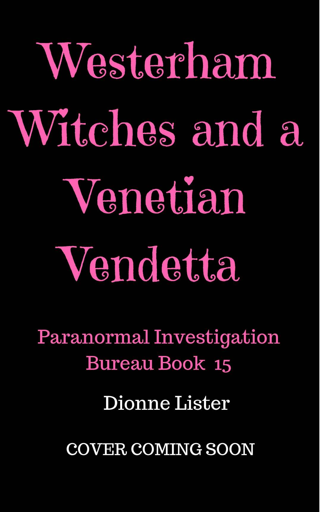 Westerham Witches & a Venetian Vendetta cover coming soon-2