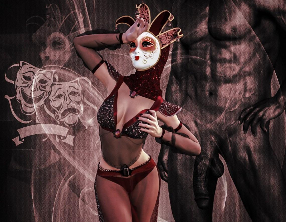 Venetian Mask 4-1