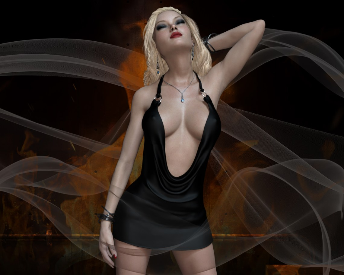 Sienna - Black Dress 3 v2