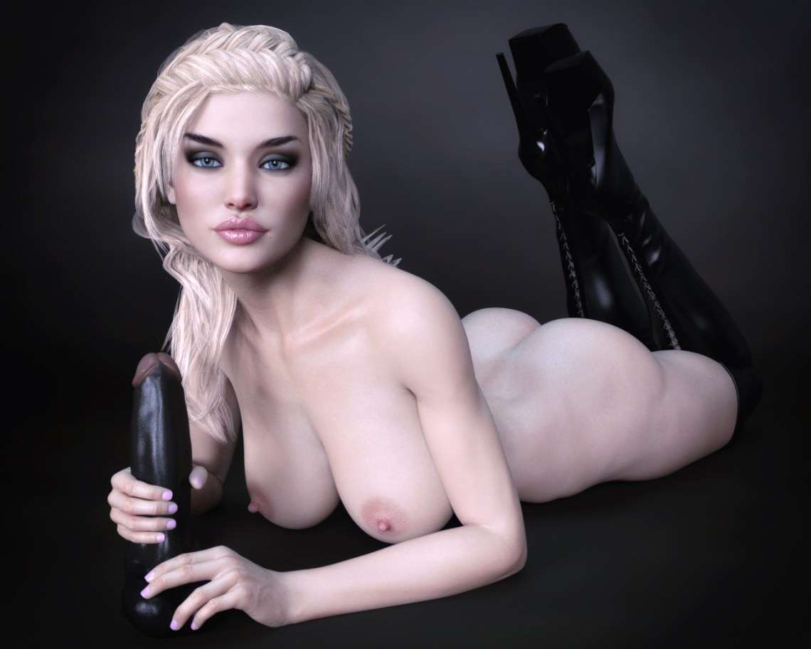 Black Dildo Photo Shoot 7