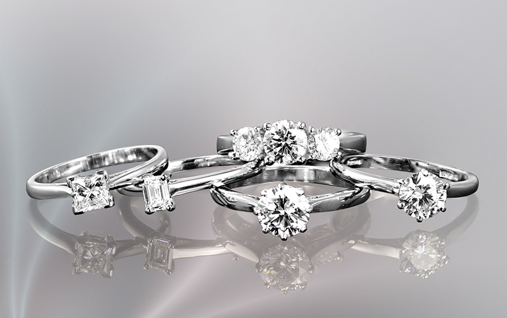 classic diamond engagement rings