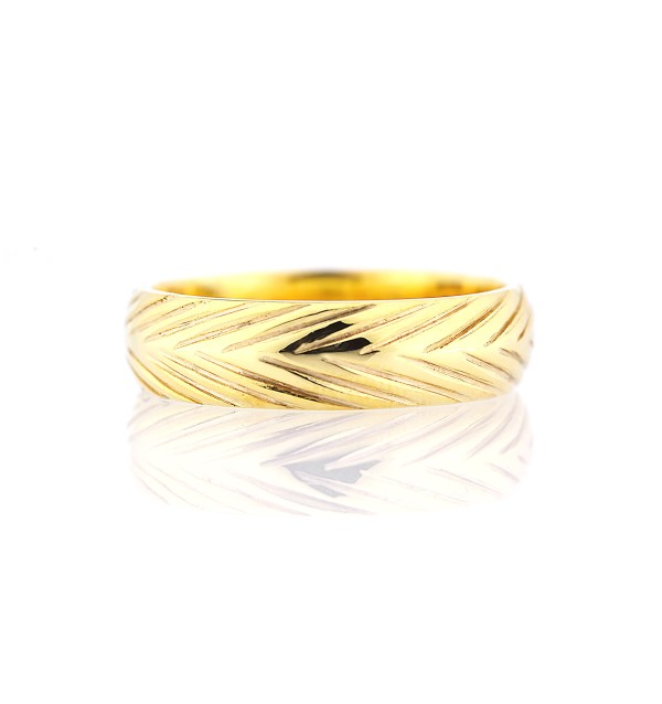 5mm width men's wedding band