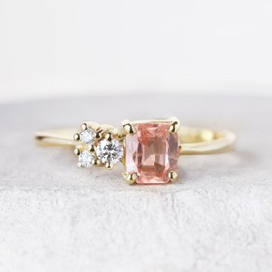 peach-sapphire-engagement-ring