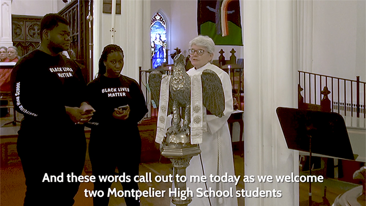 Racial Justice Presentation at Christ Church, Montpelier
