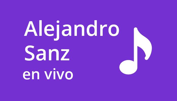 Alejandro Sanz En Vivo