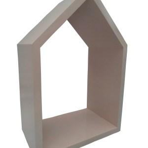 close nicho casinha rosa acabamento laqueado