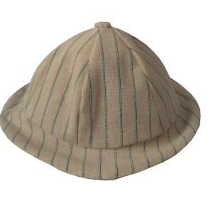chapéu infantil listrado