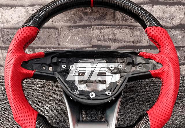 Custom carbon rat til Mercedes Benz C-class W205/ CLA/ GLA
