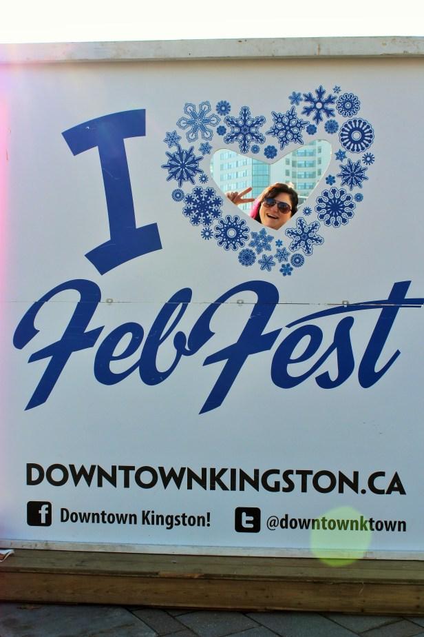 Feb Fest in downtown Kingston