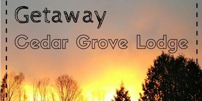 Girls weekend getaway Cedar Grove Lodge