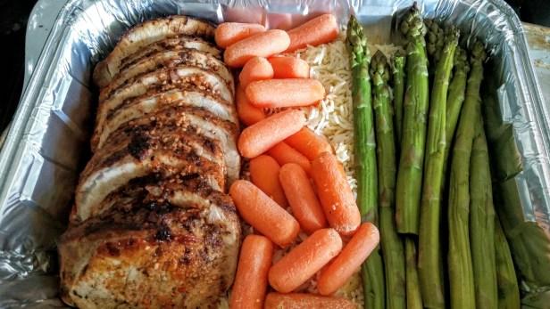 Bahamian Pork Roast Meal