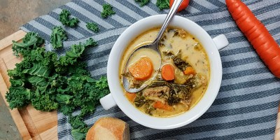 Hearty Kale & Sausage Soup
