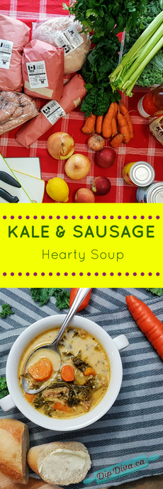 Hearty Kale & Sausage Soup
