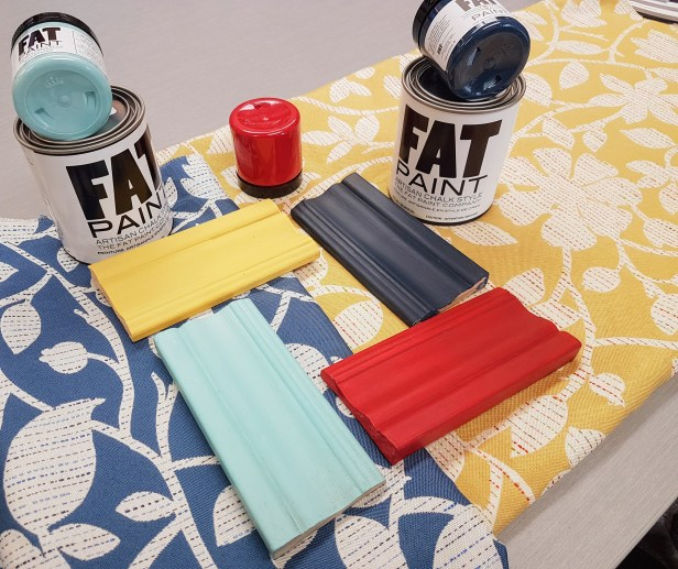 fat paint colours