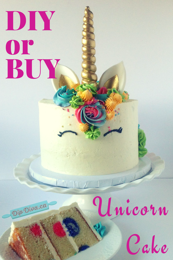 Unicorn Cake Should You DIY Or BUY
