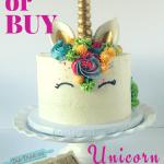 Unicorn cake image
