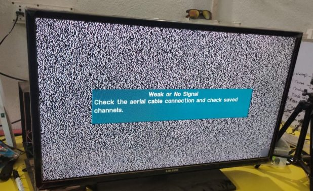 Double-Image-In-TV-Panel