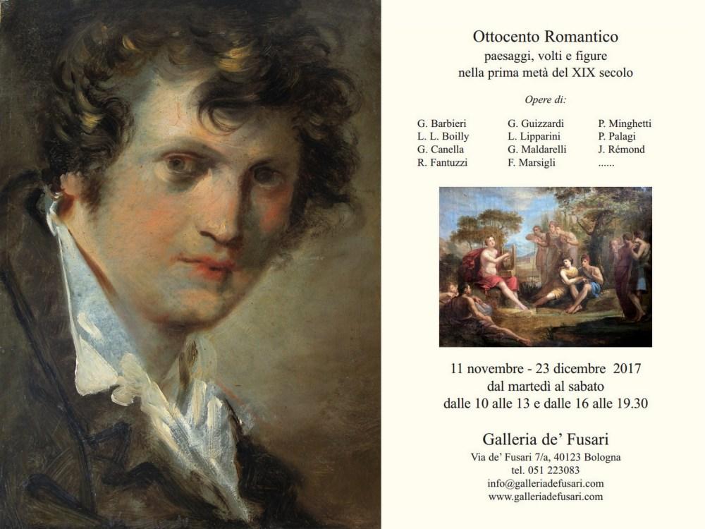 Galleria de' Fusari | Mostra | Ottocento Romantico | 11 Nov - 23 Dic 2017 | Invito