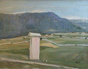 Mario Pozzati (1888 – 1947) | La madonnina del Loan | Olio su tela, cm. 40 x 52