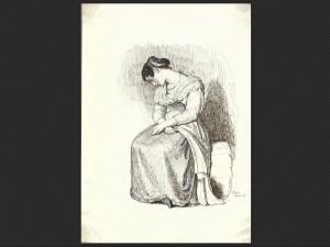 Joseph Severn | Modella seduta