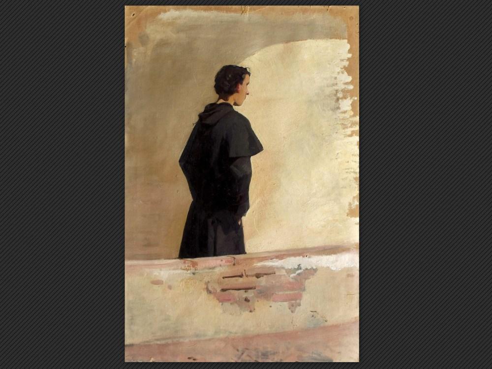 Luigi Busi, Studio di figura