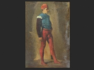 Alessandro Guardassoni, Studio di figura in piedi