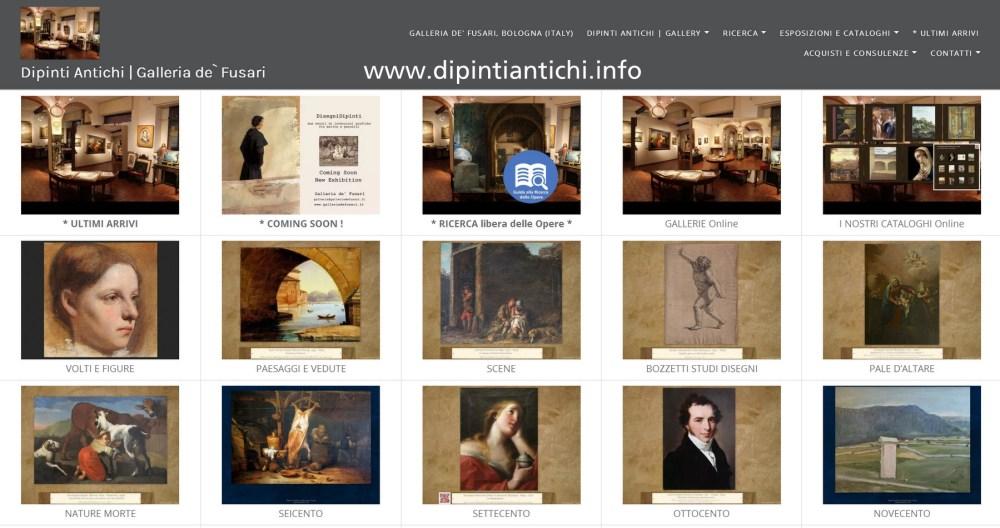 Dipinti antichi | * Ricerca delle Opere per Categorie