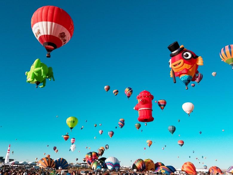 Five Tips To Enjoying The Albuquerque Balloon Fiesta Dipkiss Travels