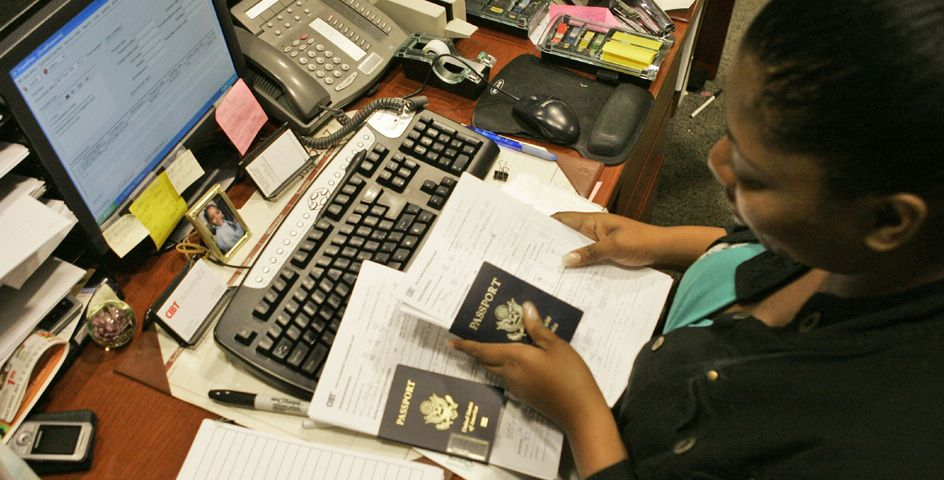 The Department of State is the government agency responsible for issuing passports.