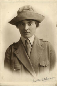 Lucile Atcherson, circa 1920, courtesy of the National Archives and Records Administration