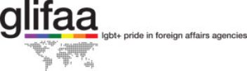 gliffa logo: lgbt+ pride in foreign affairs