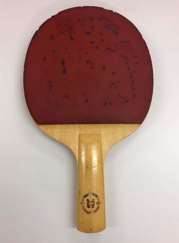 double happiness paddle ping pong diplomacy