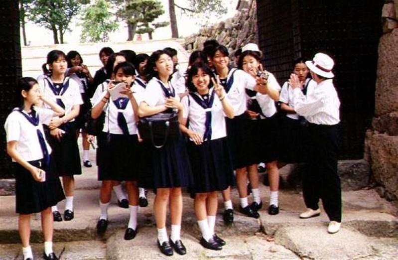 Japanese high school students.