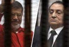 تصویر از دفن شبانه محمد مرسی و تشییع رسمی حسنی مبارک: پایان انقلاب مصر
