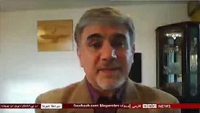 تصویر از مصاحبه با بی بی سی مورخ ۵ اوت ۲۰۲۰ درباره مسلمانان ایغور چین